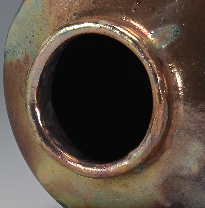 Lot 337: Art Pottery Iridescent Vase