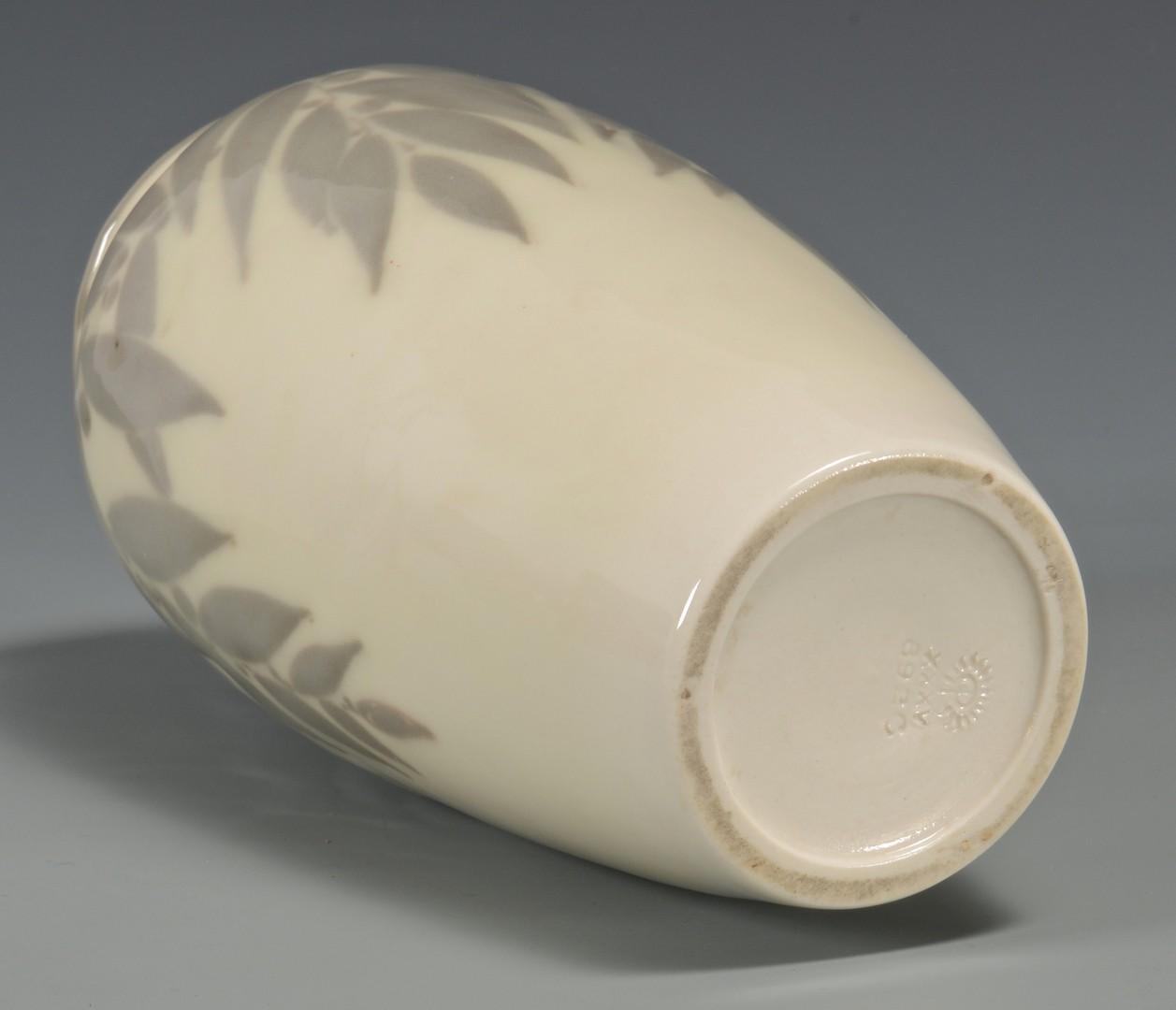 Lot 339: Rookwood Vase, Leaf Decoration