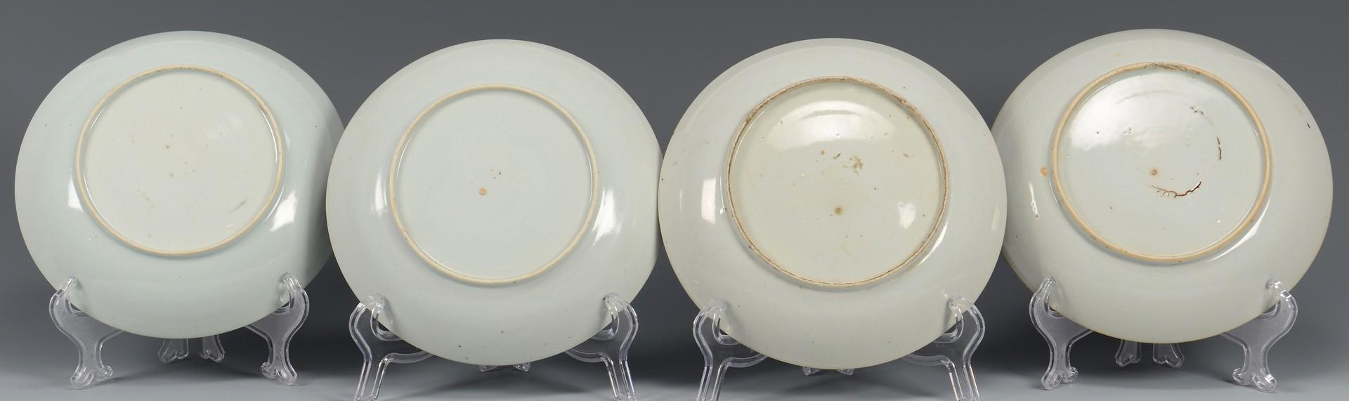 Lot 350: 12 Porcelain Asian Export Items