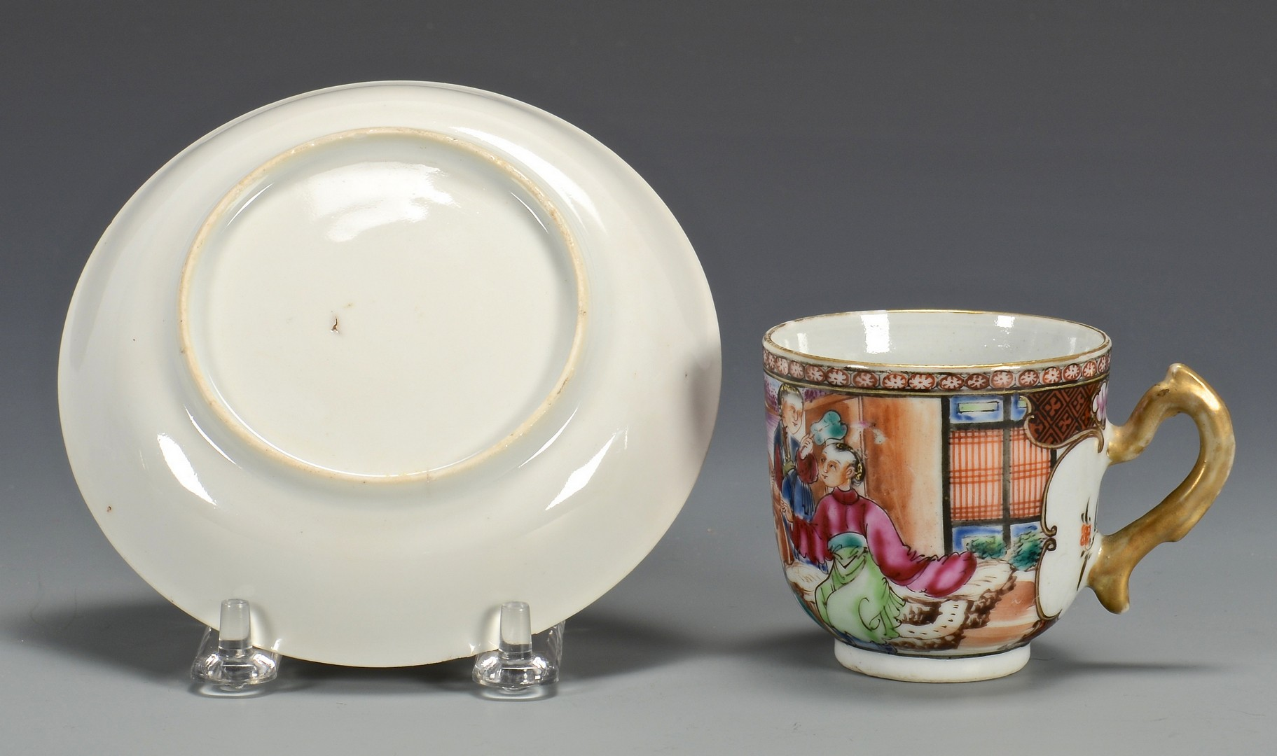 Lot 352: Grouping of Chinese Export Porcelain, 5 pcs.