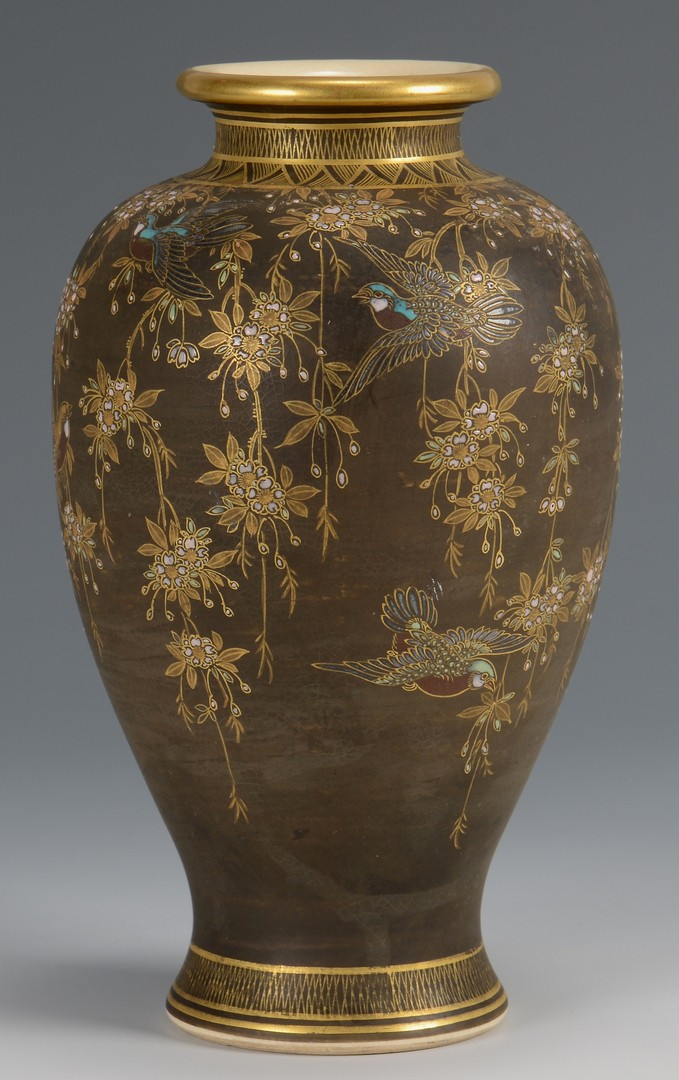 Lot 365: Japanese Lacquered Box with Vase