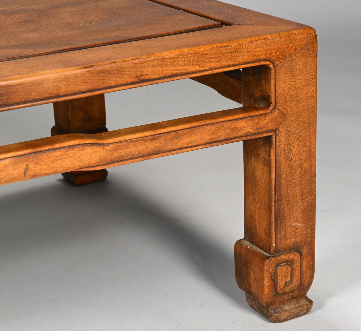 Lot 379: Chinese Hardwood Low Table
