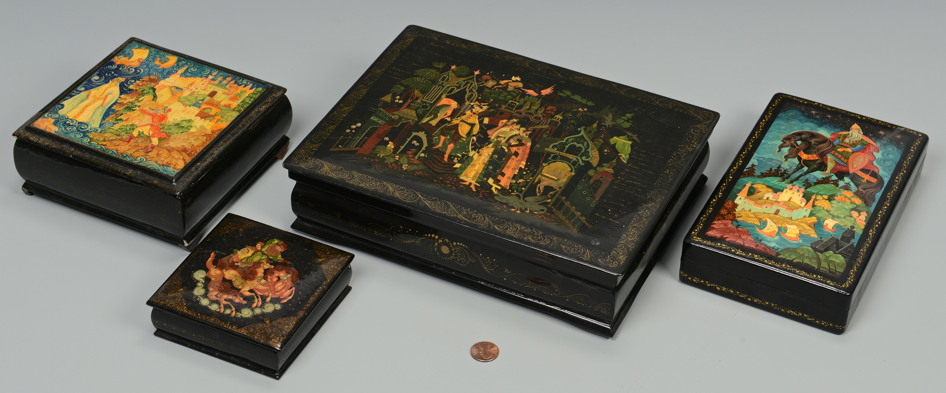 Unbelievable Russian Lacquer Boxes From 101
