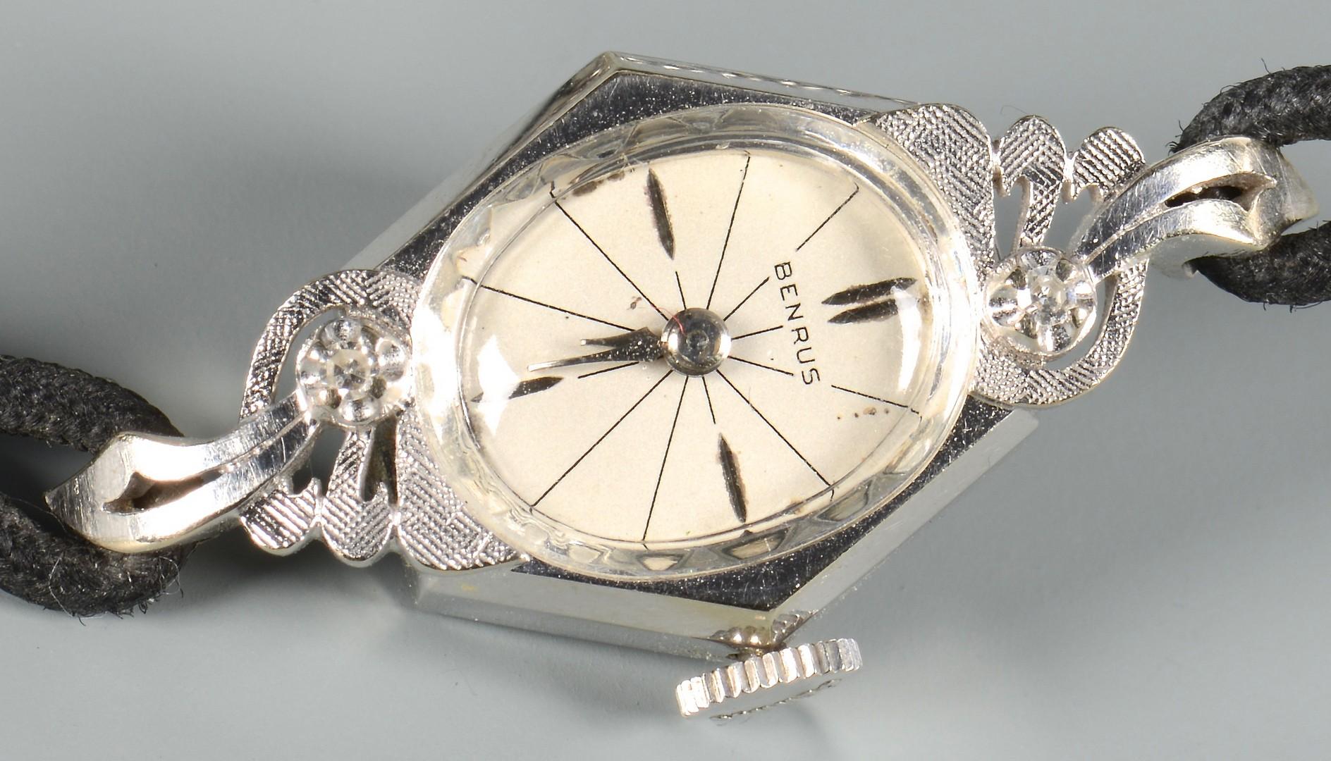 Lot 385: 2 14K watches inc. Waltham Pocket watch