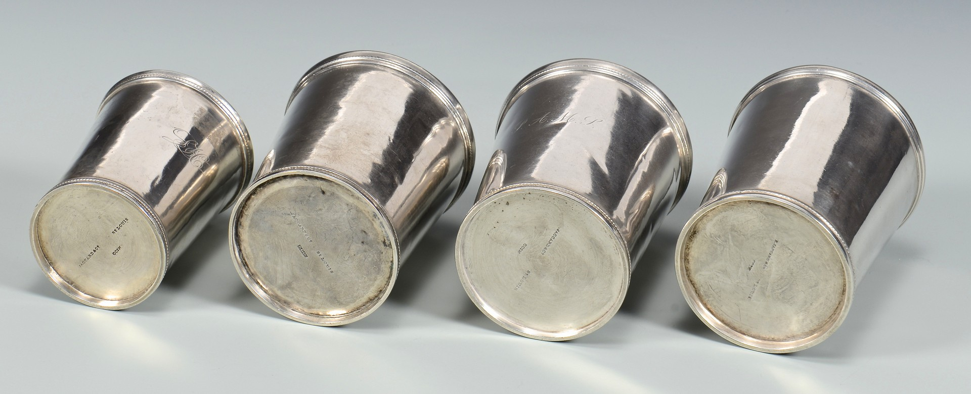 Lot 409: 4 Missouri Julep Cups inc. Agricultural