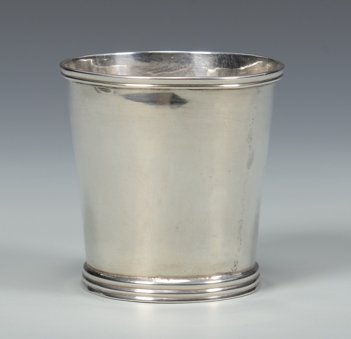 Lot 413: Beauvais Coin Silver Julep