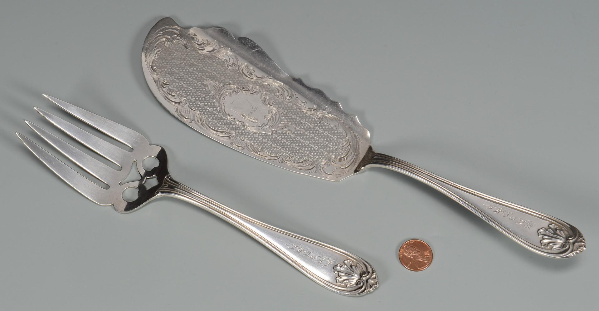 Lot 418: Memphis Coin Silver Fish Set
