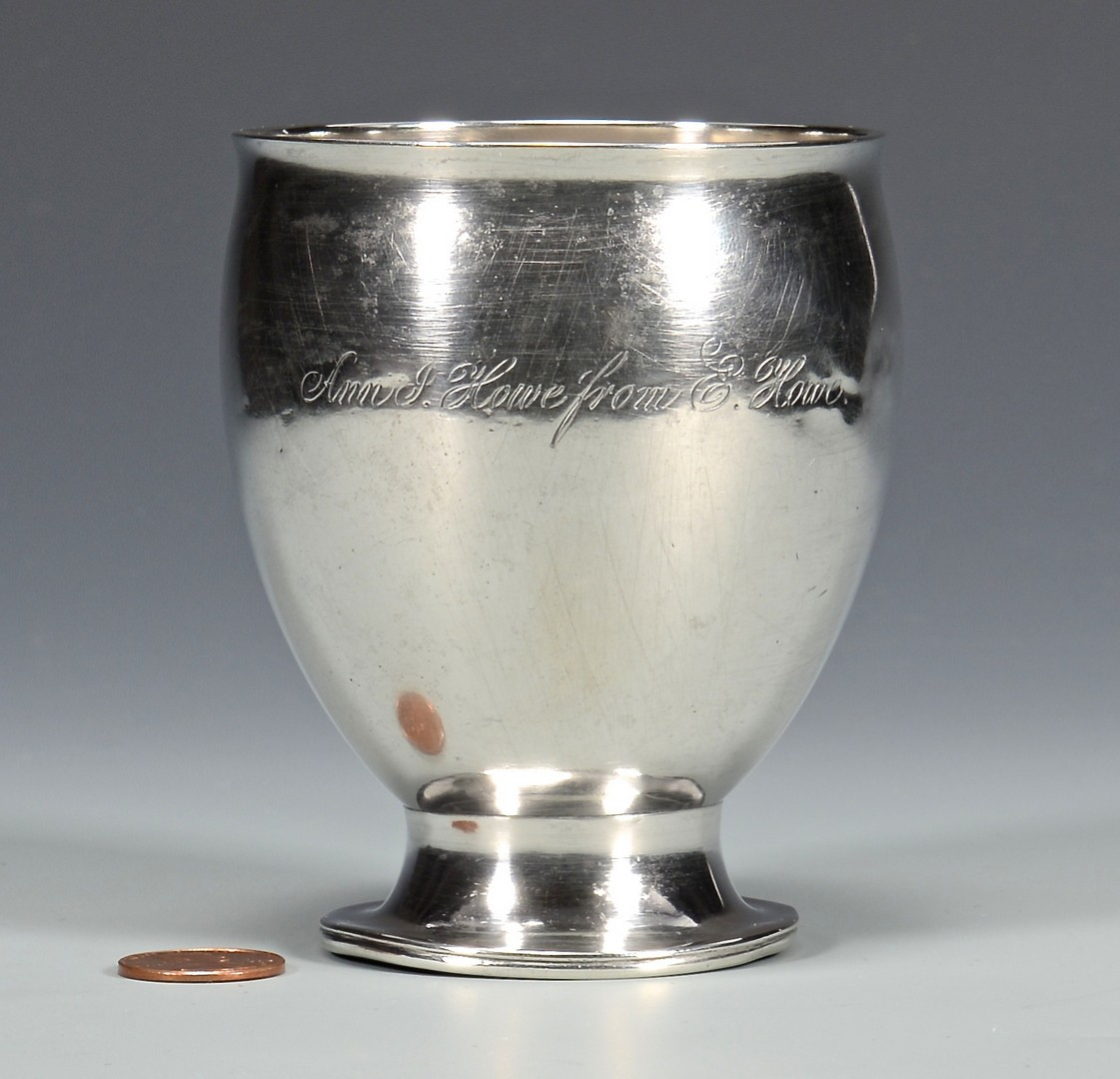 Lot 423: Merriman TN Coin silver Cup