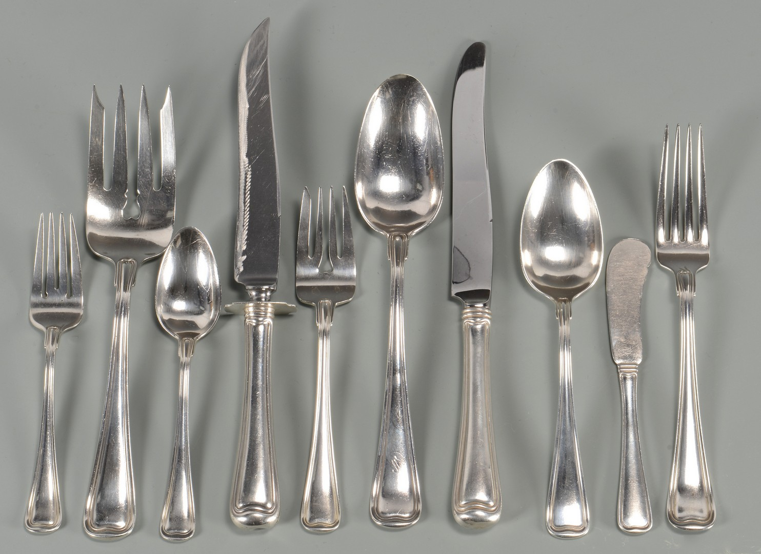 Lot 433 Gorham Quot Old French Quot Sterling Flatware Plus More