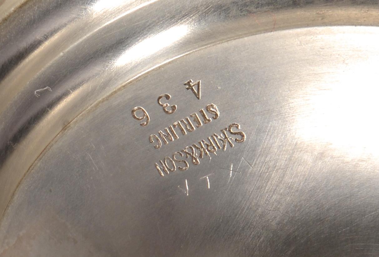 Lot 439: 2 Kirk & Son Repousse Bowls