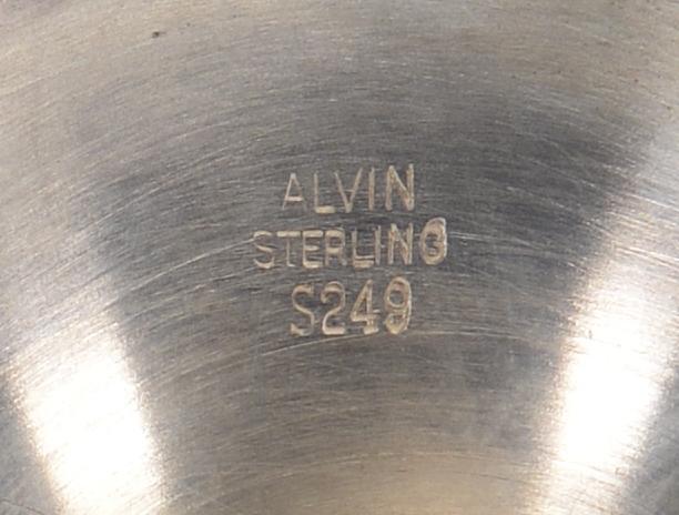 Lot 441: 8 Sterling Silver Goblets
