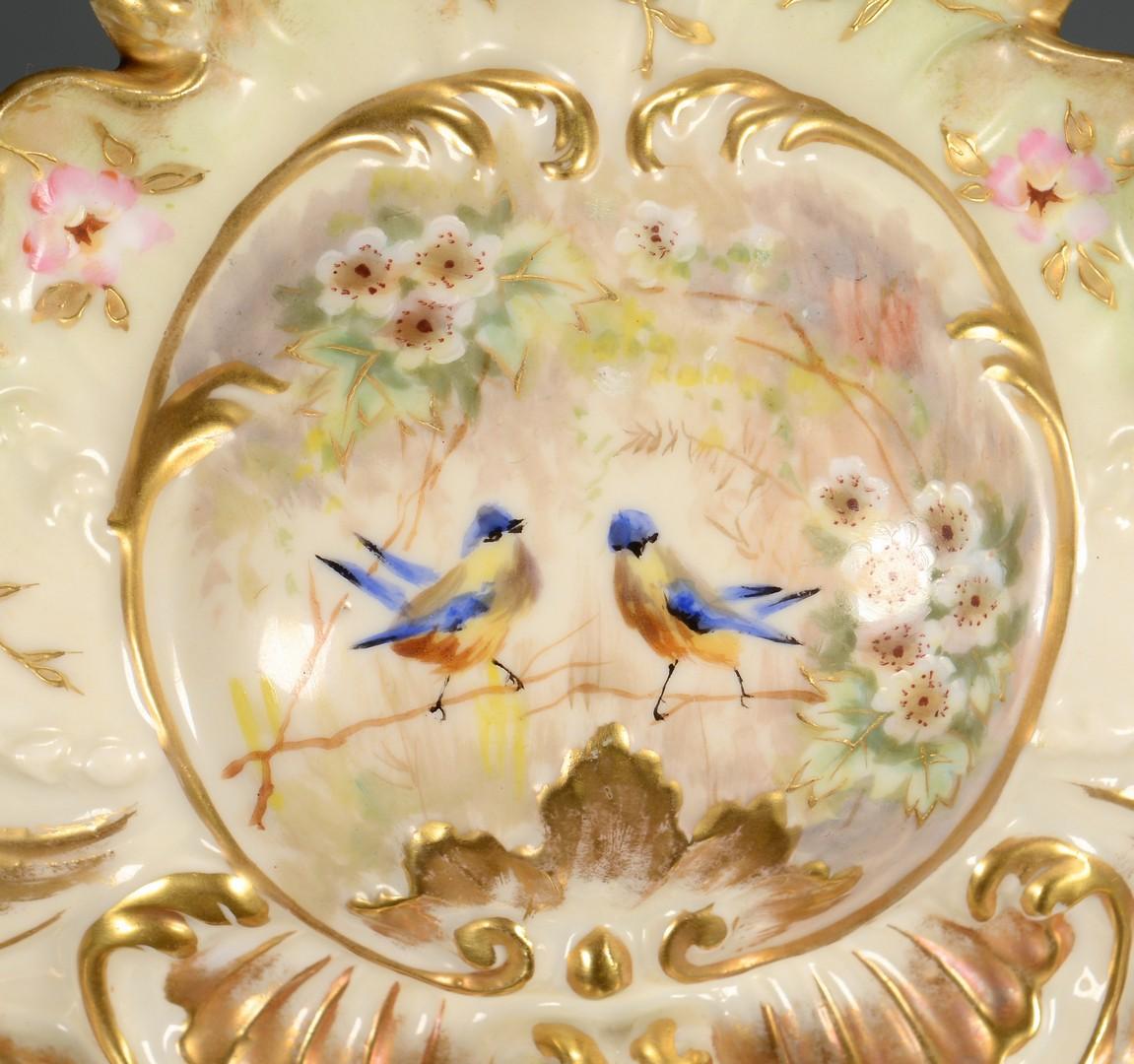Lot 456: German Porcelain Centerpiece Bowl