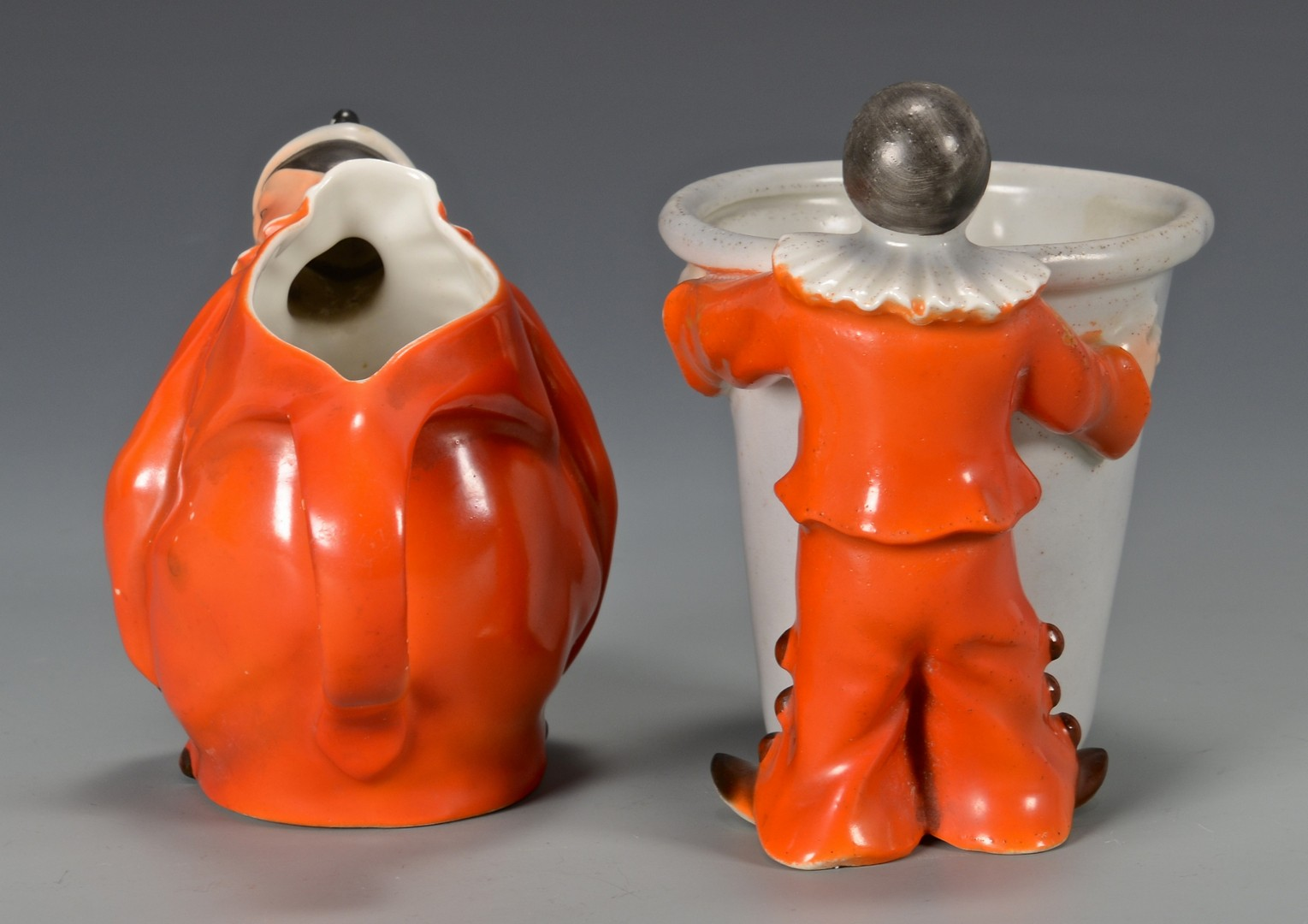 Lot 464: 3 Royal Bayreuth Clown Items