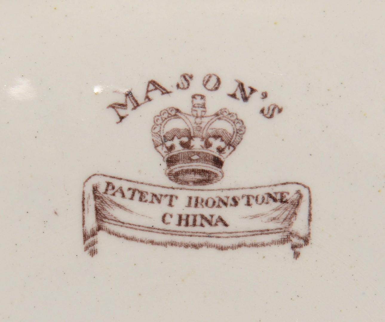 Lot 470: Mason's Ironstone, Imari pattern, 46 pcs