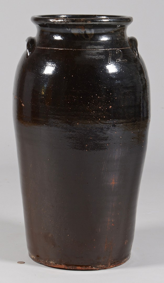 Lot 479: Large Southern 12 gallon jar, prob. GA