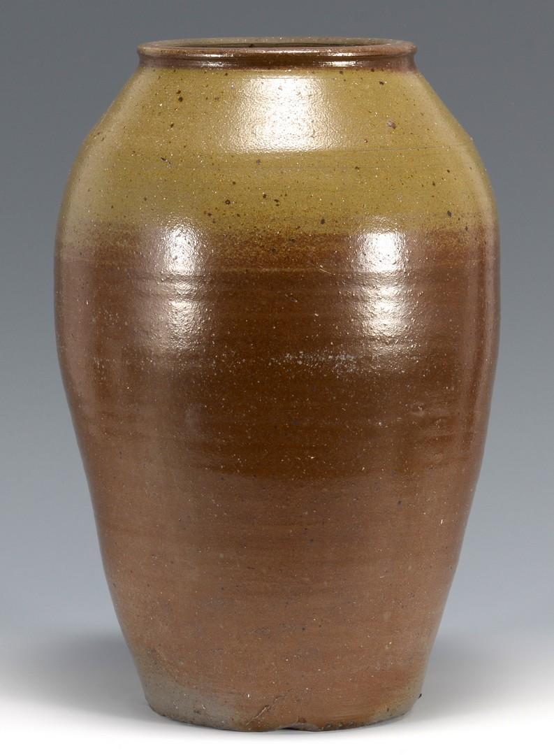 Lot 482: Middle TN Stoneware Jar