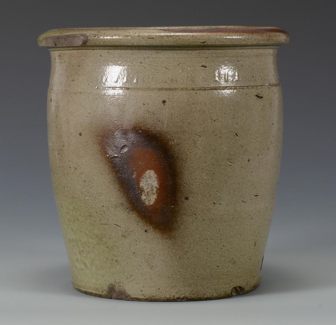 Lot 484: TN Harmon Pottery Jar & Southern Pottery Jug