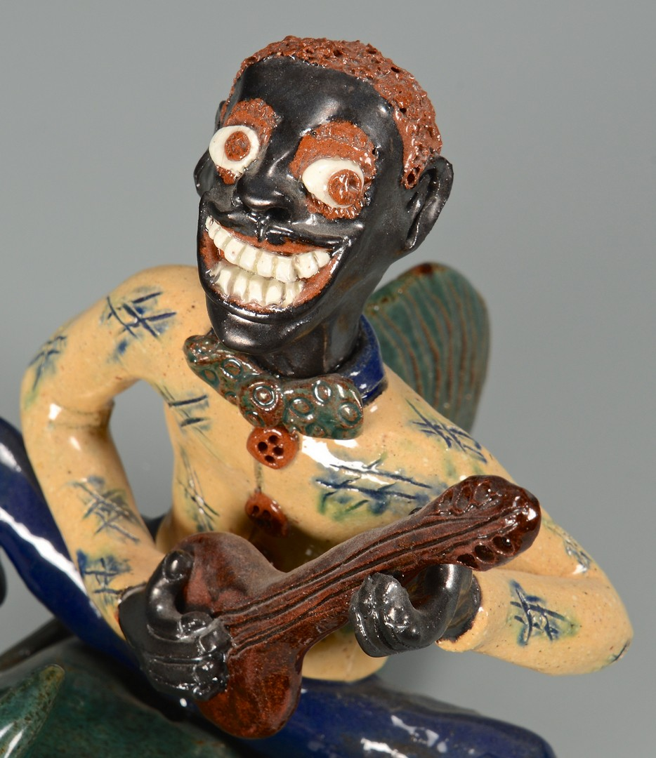 Lot 486: NC Folk Art Figural, Billy Ray Hussey