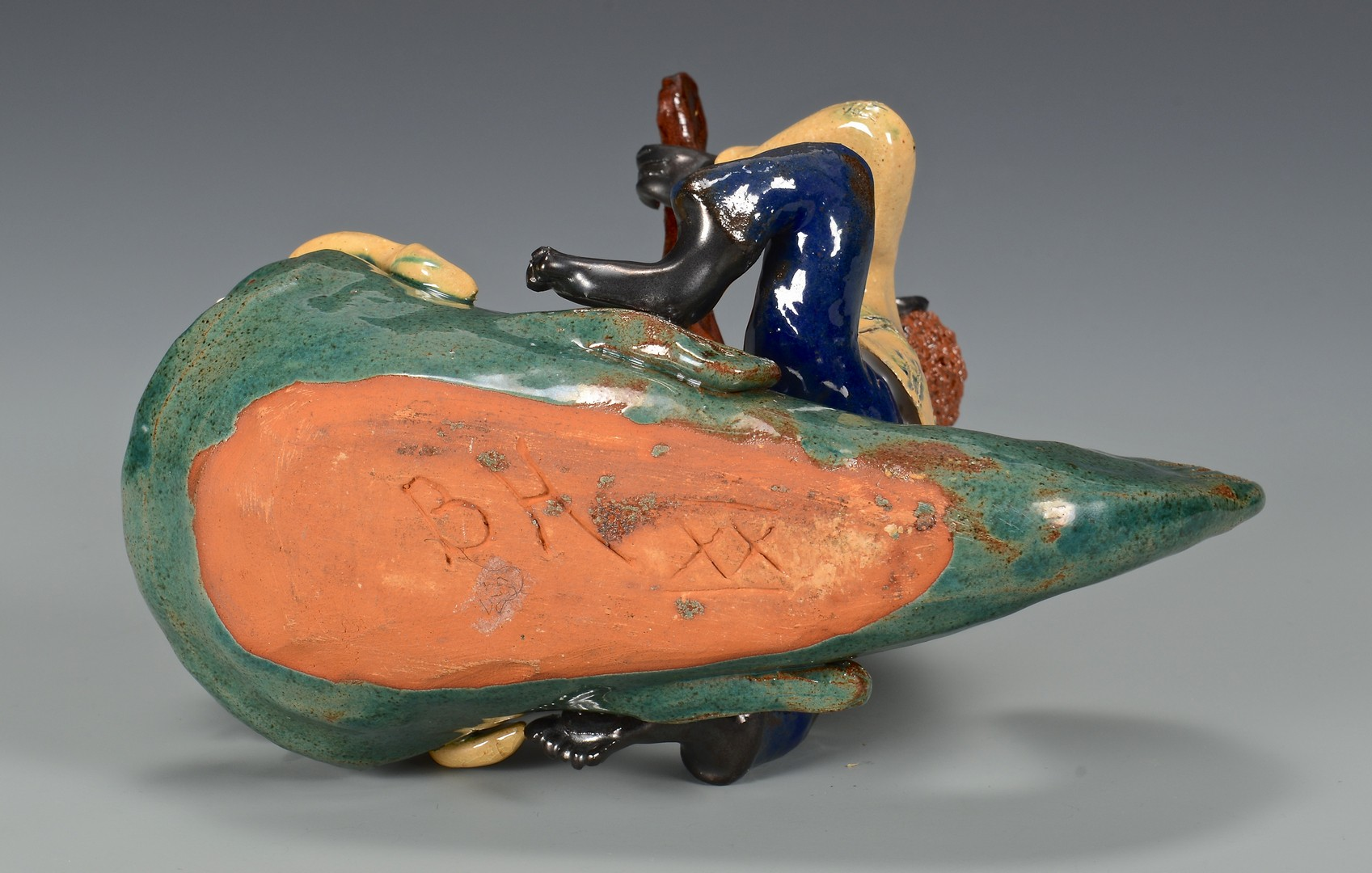 Lot 486: NC Folk Art Figural, Billy Ray Hussey