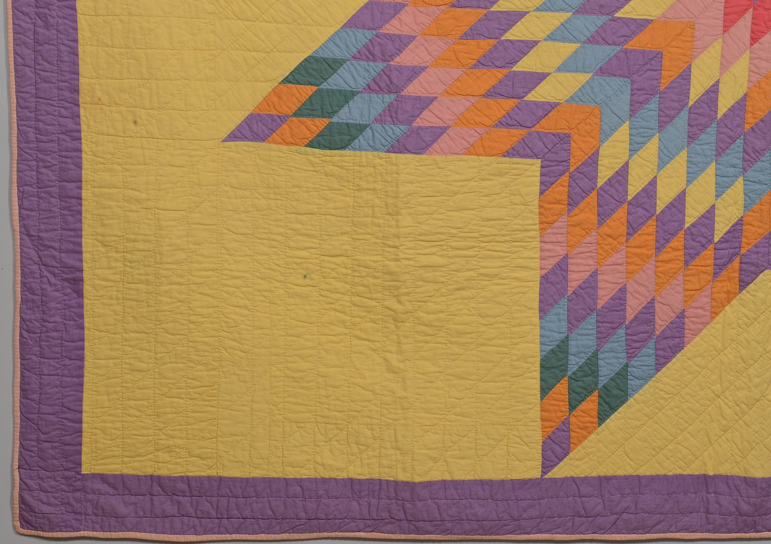 Lot 489: Lone Star Quilt