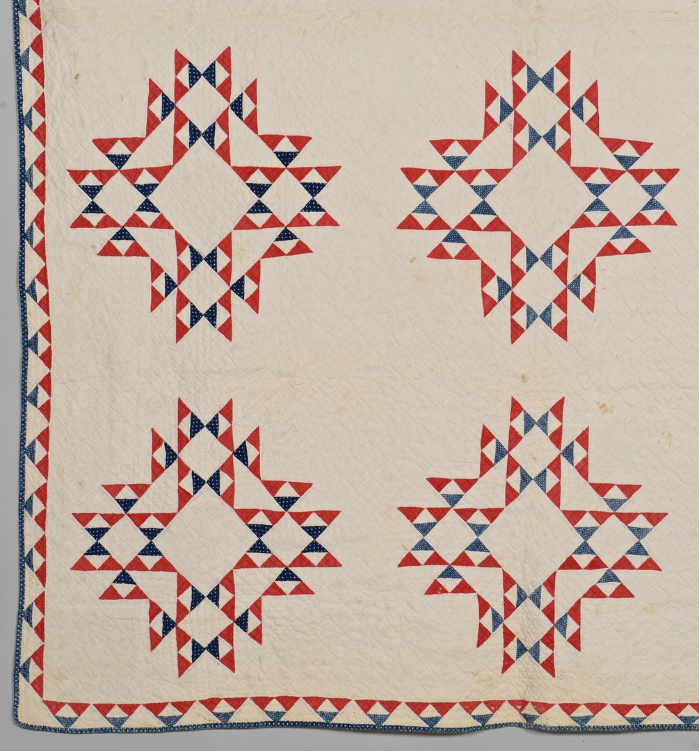 Lot 491: 2 East TN 19th c. Quilts