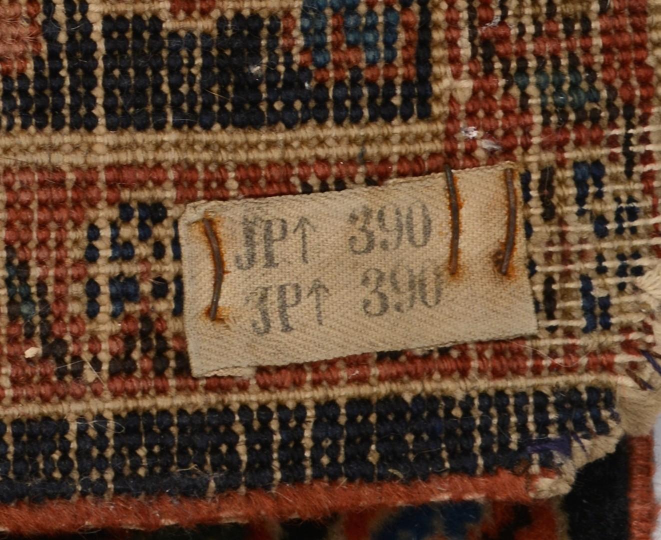 Lot 497: Persian Kashan area rug