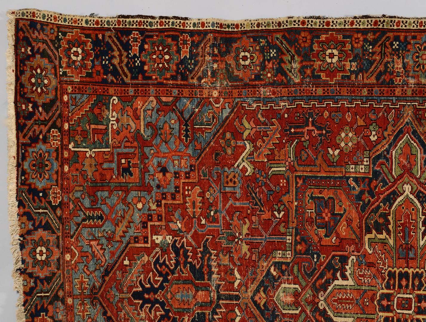 Lot 499: Heriz Persian Carpet