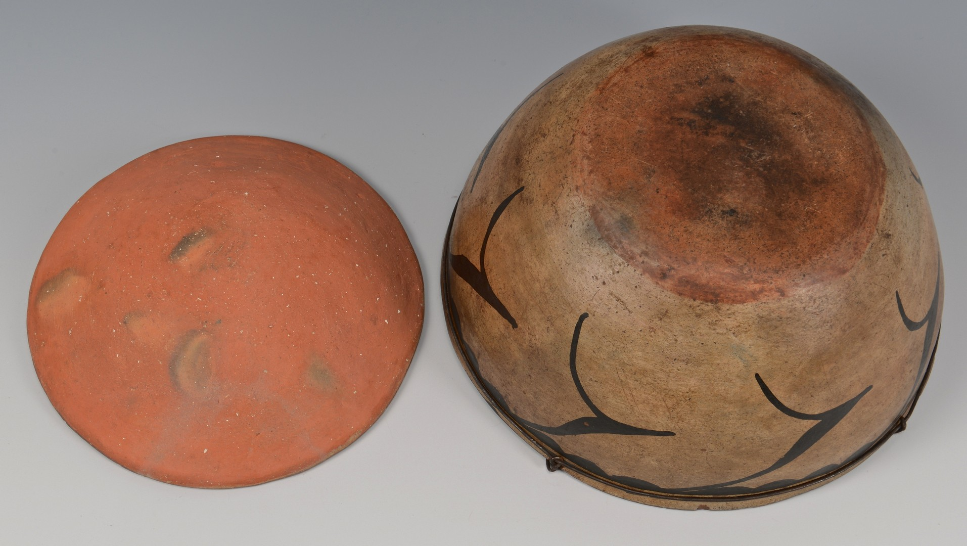 Lot 505: 3 Native American Southwestern Pottery Vessels