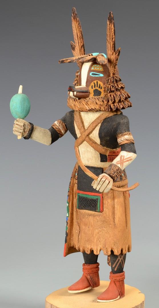 Lot 512: Grouping of 3 Hopi Kachinas