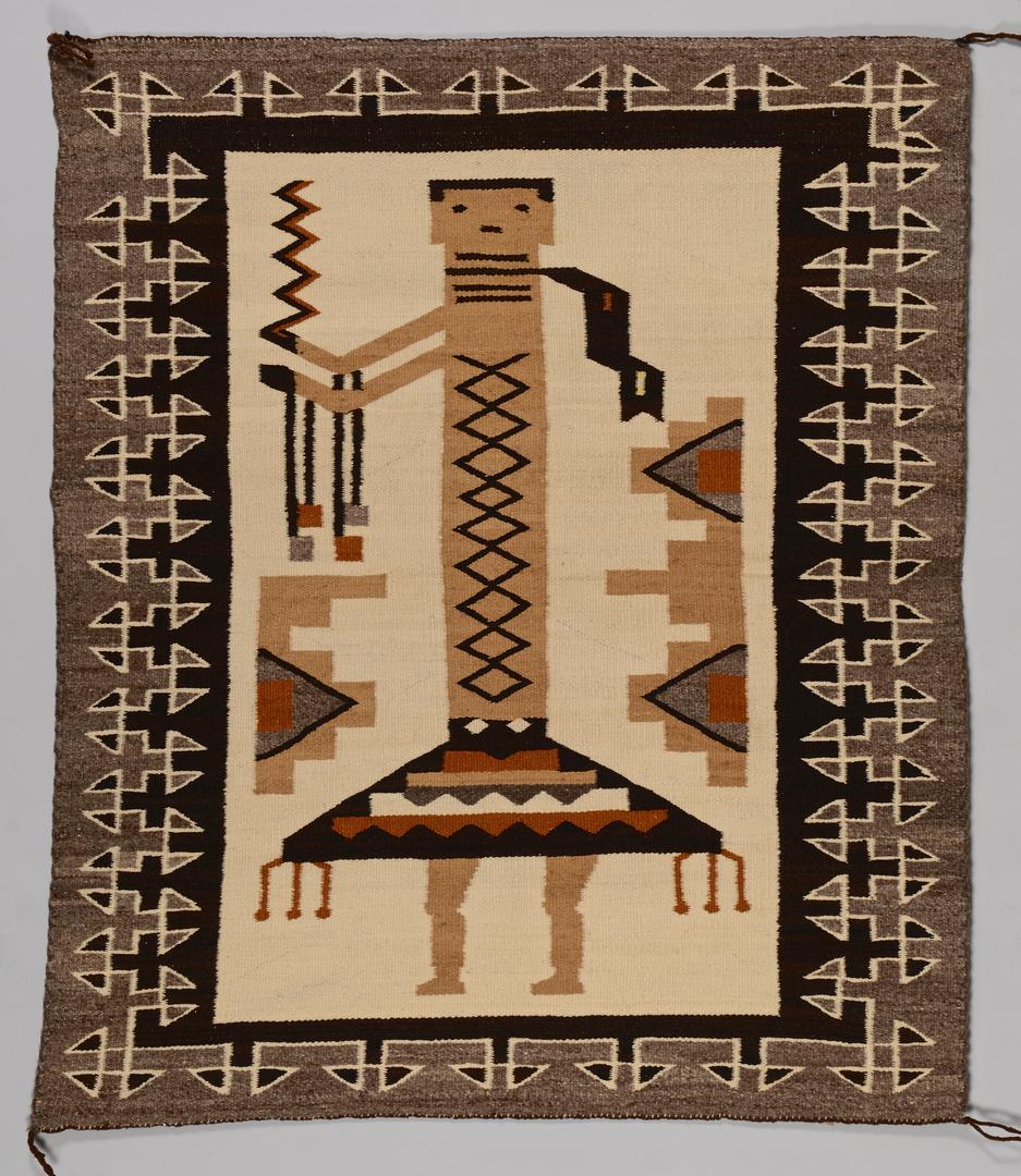 Lot 514 Navajo Single Figure Yei Rug