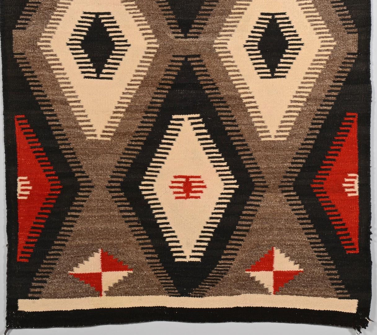 Lot 515: Native American Navajo Rug