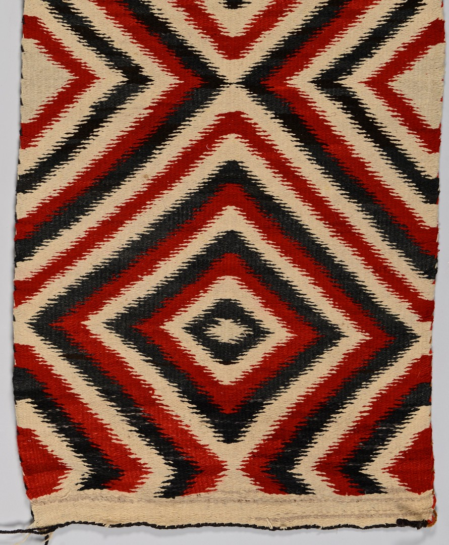 Lot 516: Native American Eyedazzler Weaving