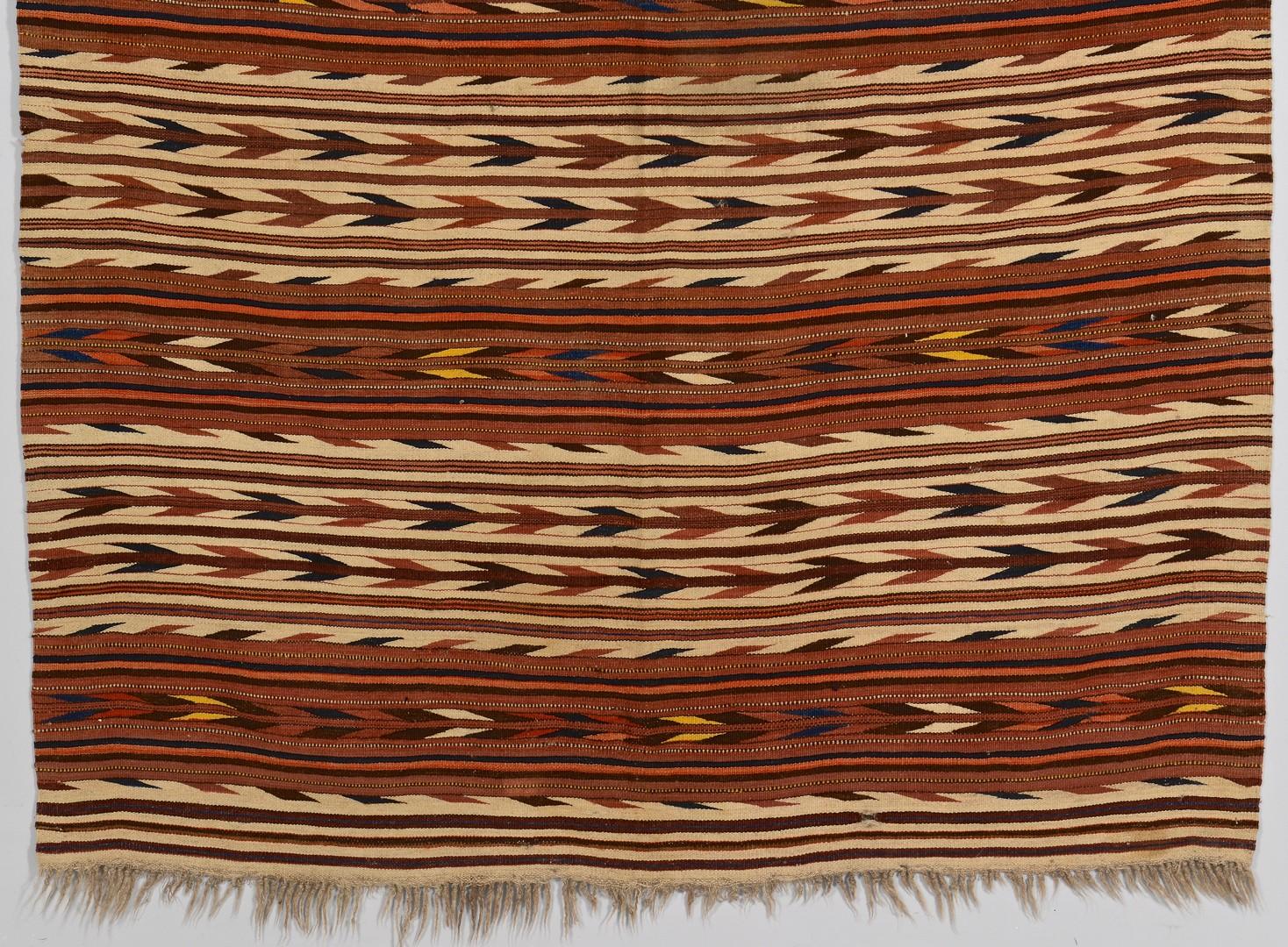Lot 517: Early Saltillo Serapi Mexican Weaving