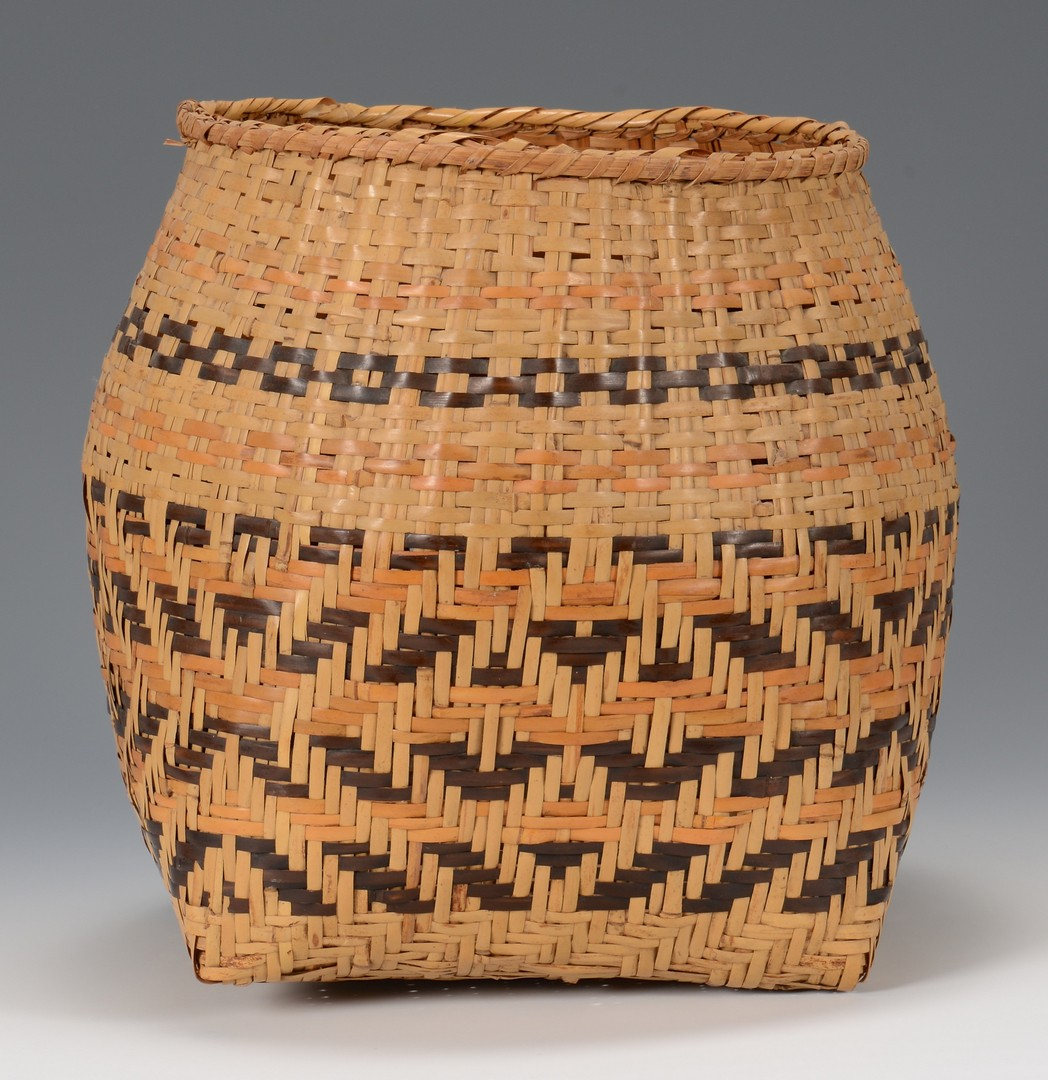 Lot 520: 3 Cherokee River Cane Baskets