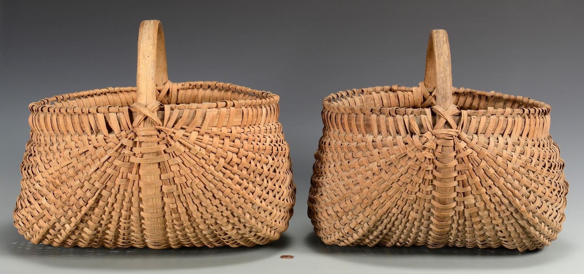 Lot 525: 2 Anderson County, TN Buttocks Baskets