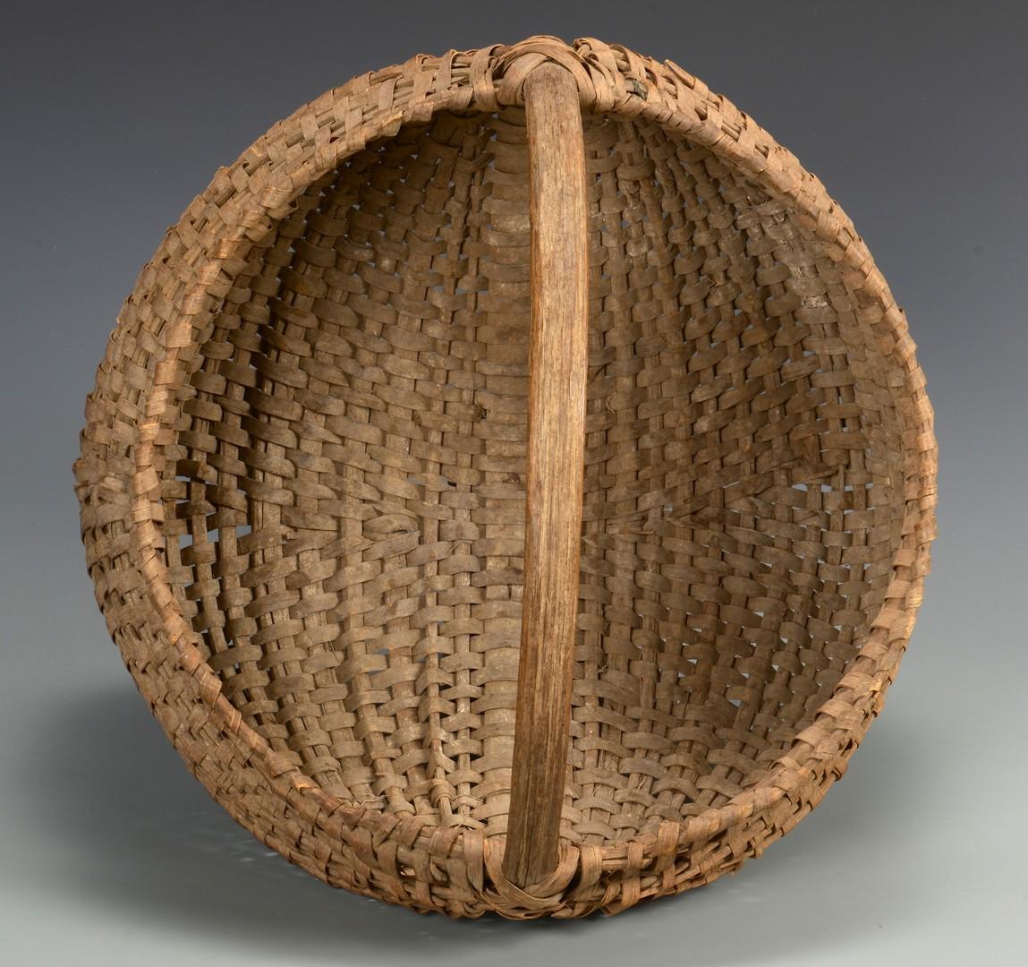 Lot 525: 2 Anderson County, TN Buttocks Baskets