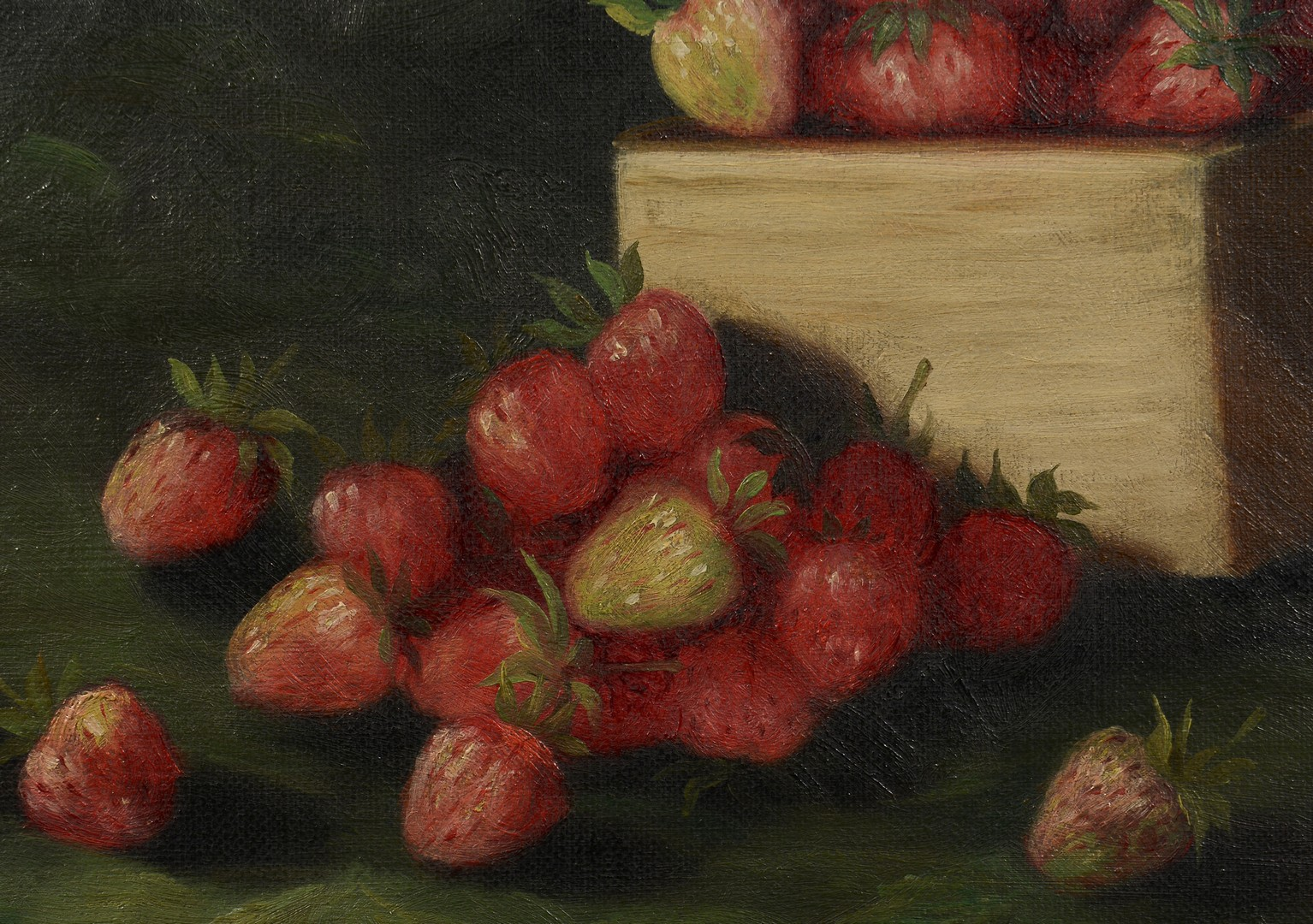 Lot 532: 2 American Fruit Still Life Paintings