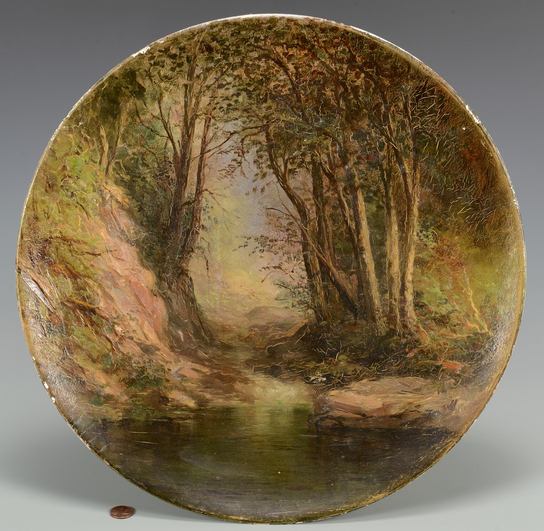 Lot 535: Manner of Thomas Doughty, Mountain Stream