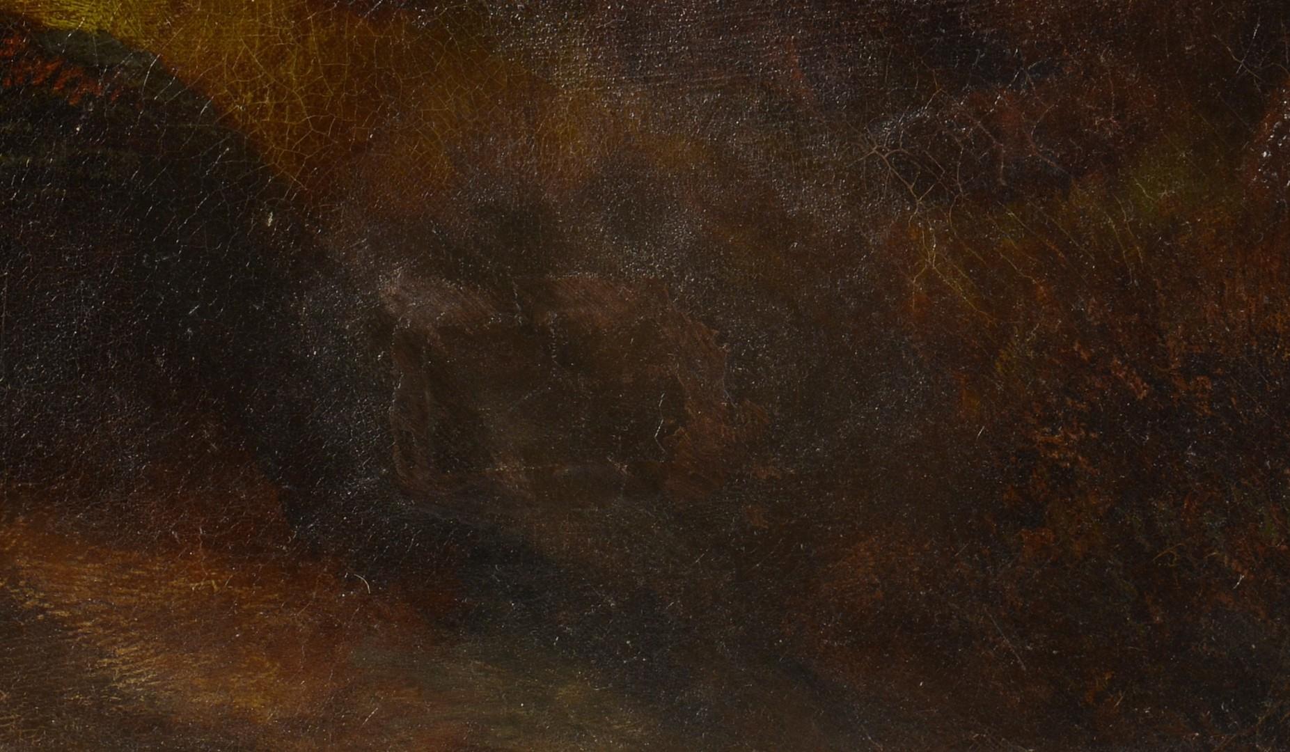 Lot 544: Scottish Oil on Canvas, signed J. S. Fox
