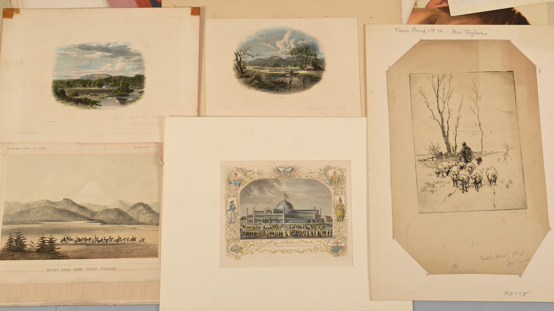 Lot 550: 32 Assorted Prints