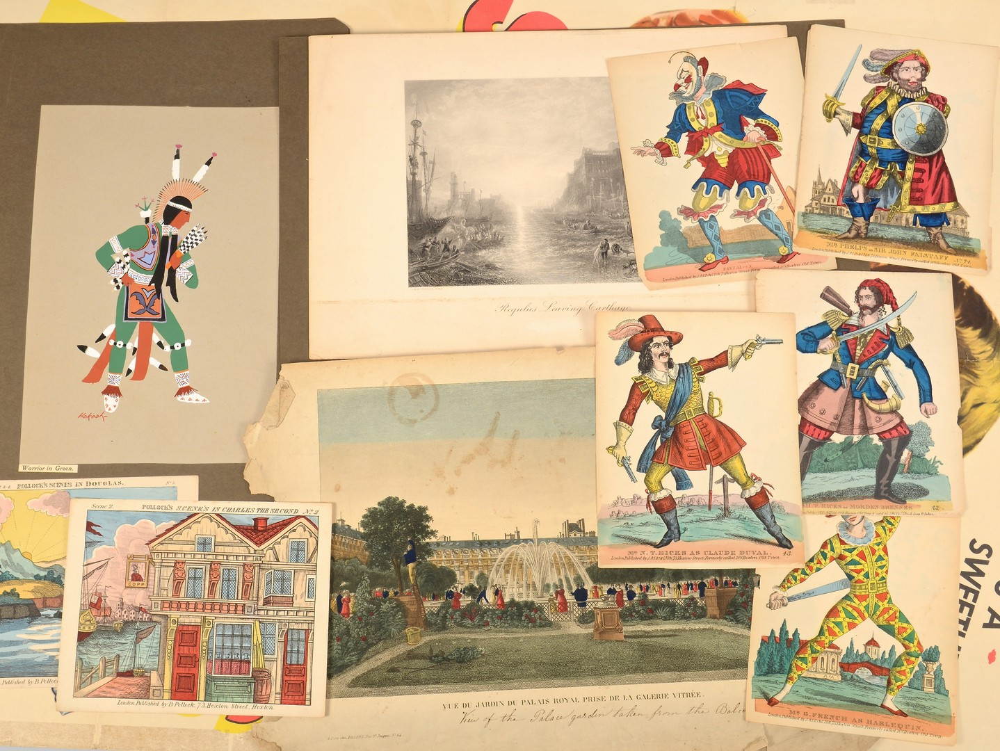 Lot 550: 32 Assorted Prints