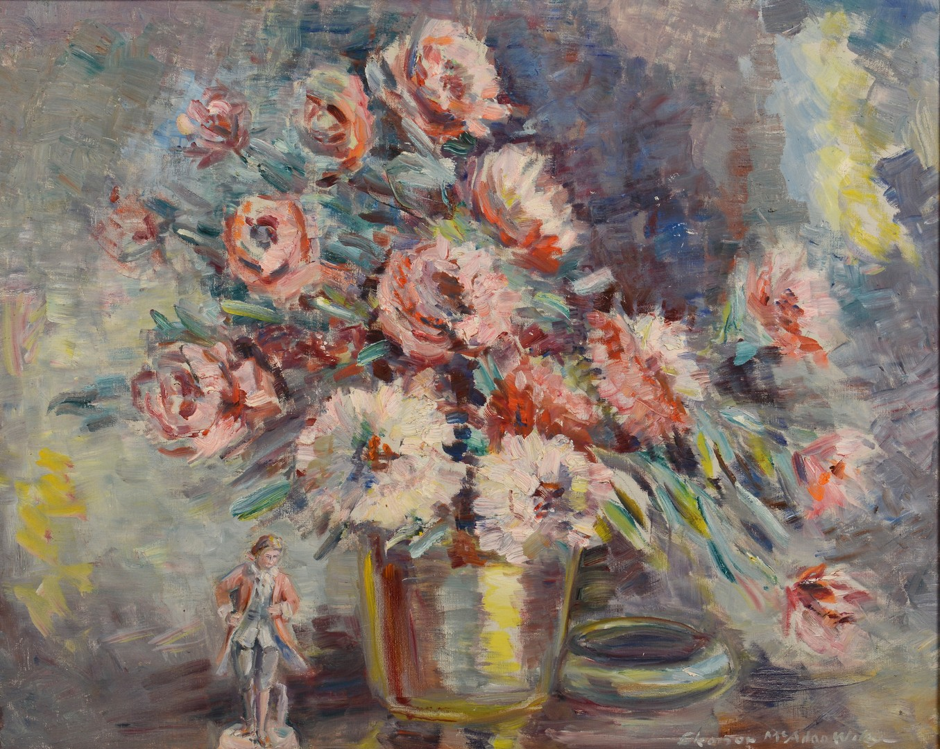 Lot 553: Eleanor McAdoo Wiley Still Life Painting