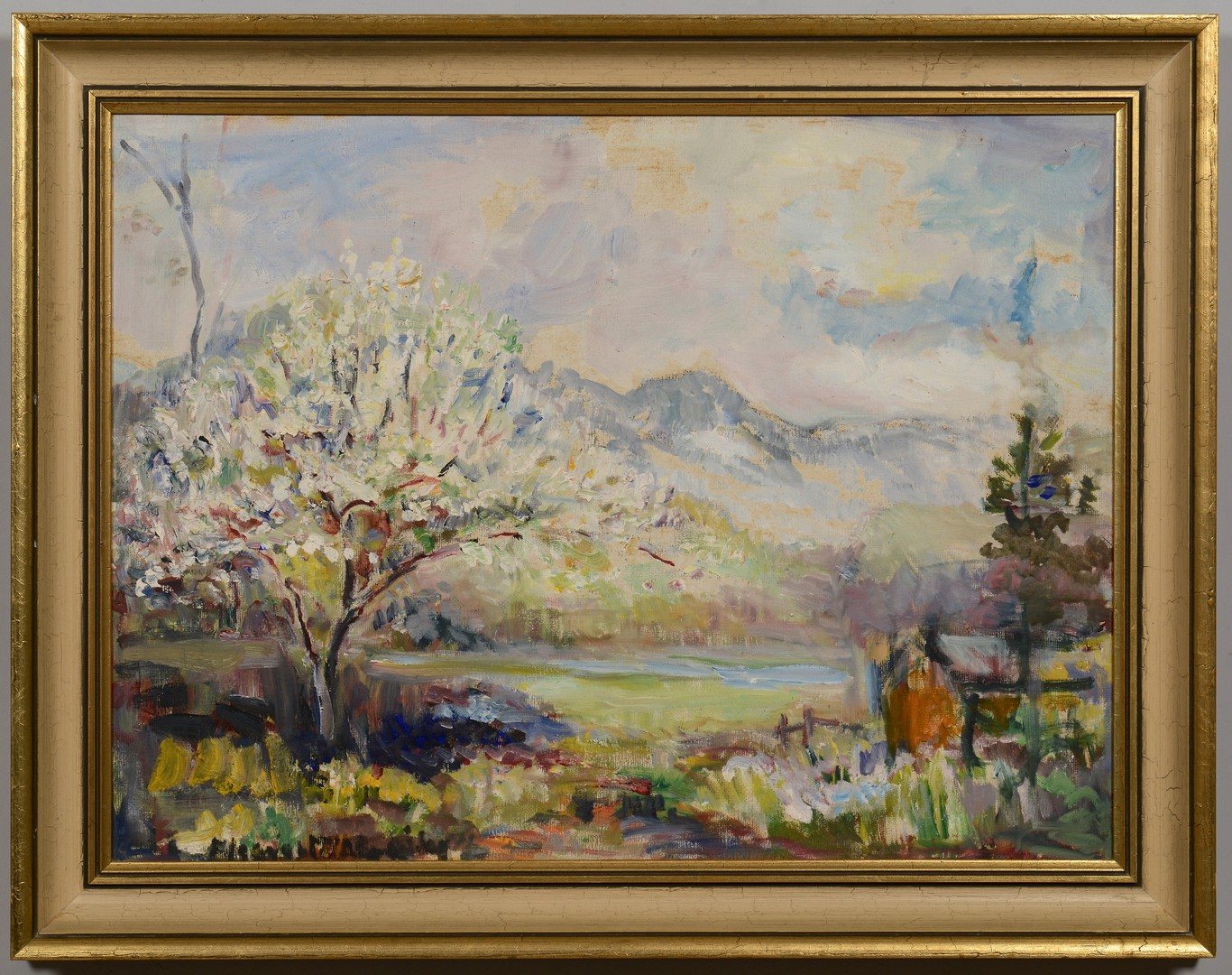 Lot 554: Eleanor McAdoo Wiley, Pr. TN landscapes