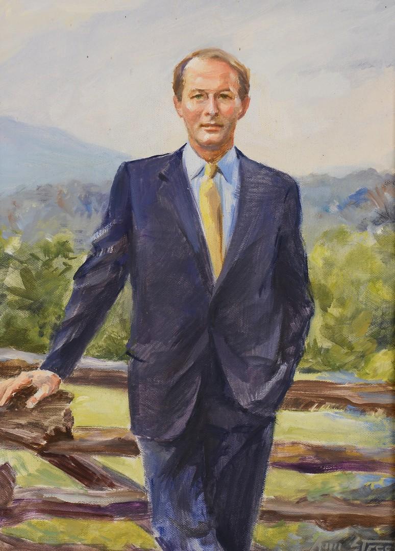 Lot 556: Portrait of Senator Lamar Alexander