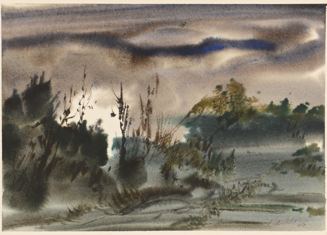 Lot 557: 2 TN watercolors, Clarke & Ironside