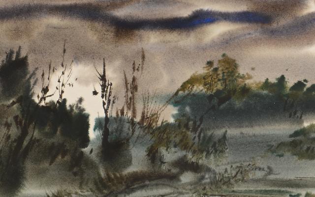 Lot 557: 2 TN watercolors, Clarke & Ironside