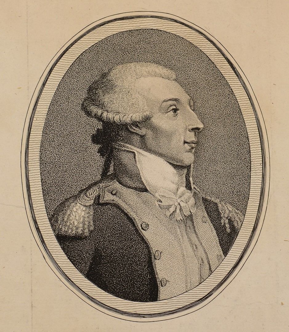 Lot 564: 2 Rare Engravings of Lafayette