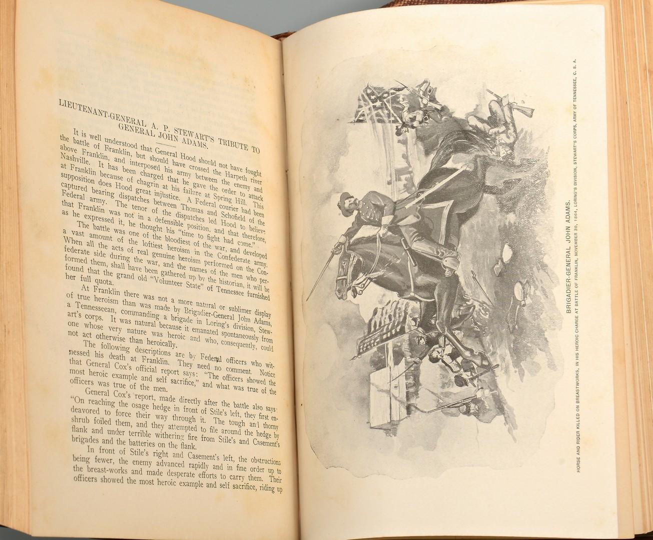 Lot 572: 4 Civil War Books inc. TN & McClellan signed biography