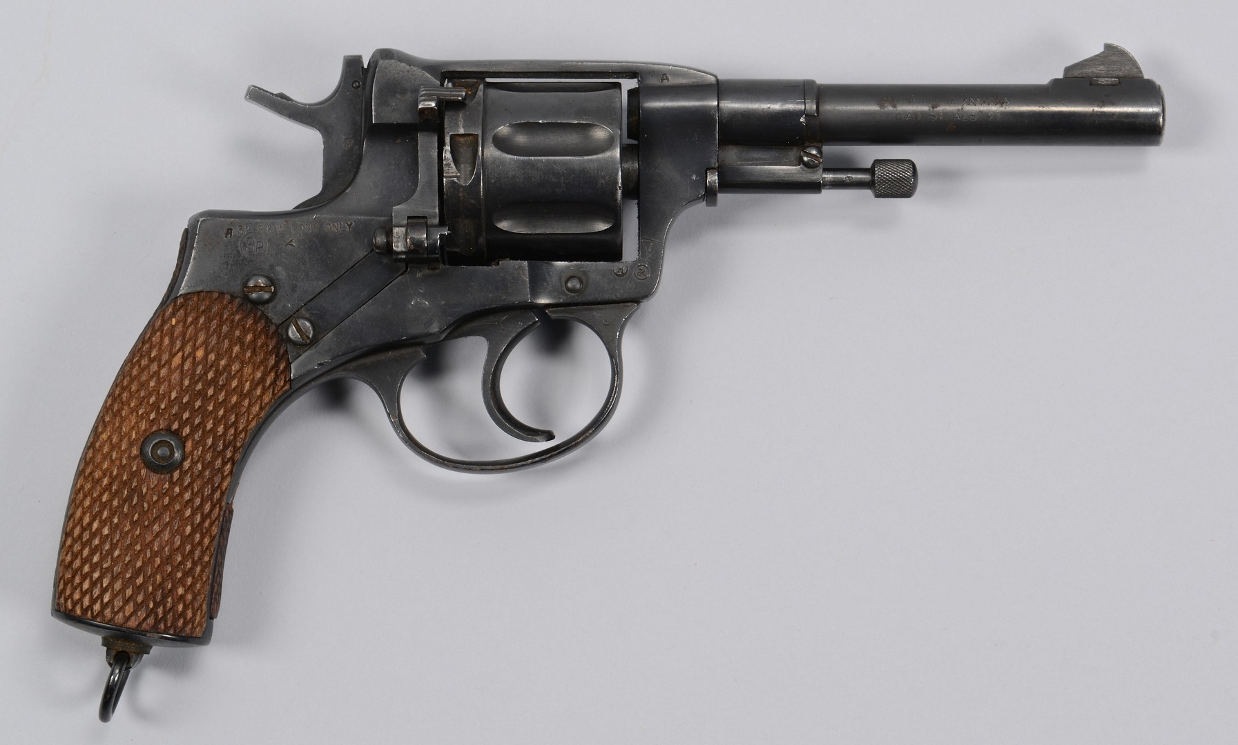 Lot 577: Russian 1936 Nagant Revolver