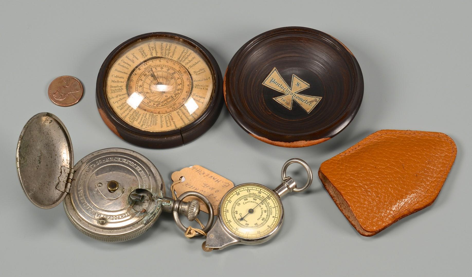 Lot 589: 3 Scientific Antiques